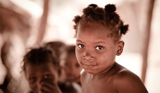 Child in Burkina Faso. Photo © Eric Montfort