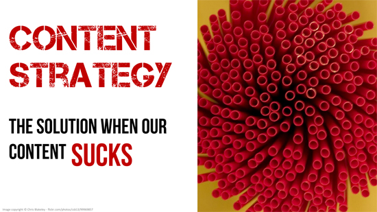 Content Strategy: The Solution For When Our Content SUCKS