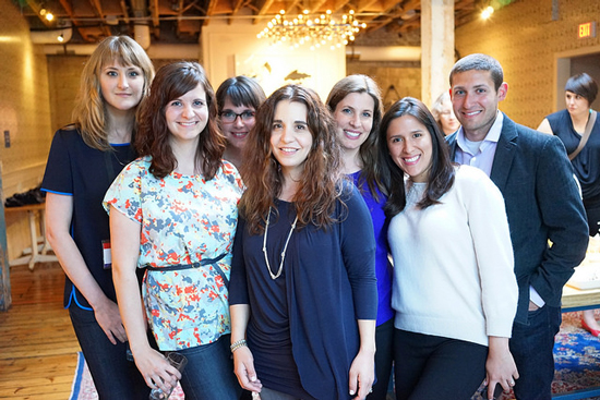 Members of the Facebook Content Strategy team at Confab Central 2014. Photo © Sean Tubridy/Brain Traffic