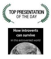 Slideshare Top Presentation of the Day - How Introverts Can Survive in This Extroverted World